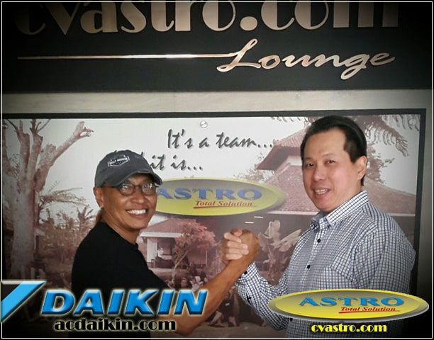 ASTRO dan Daikin